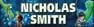 Personalised The Good Dinosaur Waterproof School Name Labels
