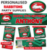 Personalised Rabbitohs Birthday Party Banner and Decorations