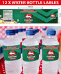 Personalised Rabbitohs Birthday Party Water Bottle Labels