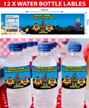 Personalised Batman Lego Birthday Party water bottle lables
