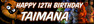 Personalised Five Nights at Freddy's Party Birthday Banner