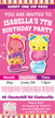 Personalised Num Noms Birthday Party Invitations