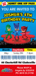 Personalised PJ Masks Birthday Party Invitations