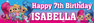 Personalised Shimmer and Shine Birthday Party Banner