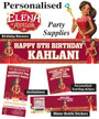 Princess Elena of Avalor Birthday Party Banner Decorations