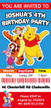 Winnie the Pooh Birthday Party Invitations