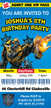Personalised Transformers Bumblebee Birthday Party Invitations