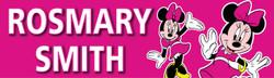 Personalised Minnie Mouse Waterproof School Name Labels