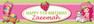 Personalised Strawberry Shortcake Birthday Party Banner