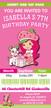 Personalised Strawberry Shortcake Birthday Party Invitations