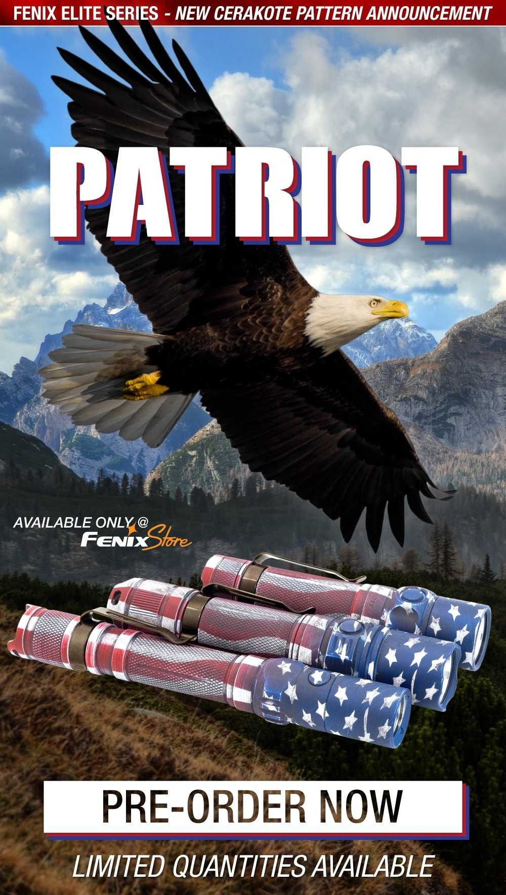 Fenix Elite Edition - Patriot Cerakote