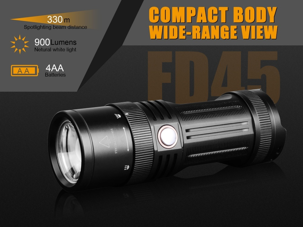 Fenix FD45 LED Flashlight