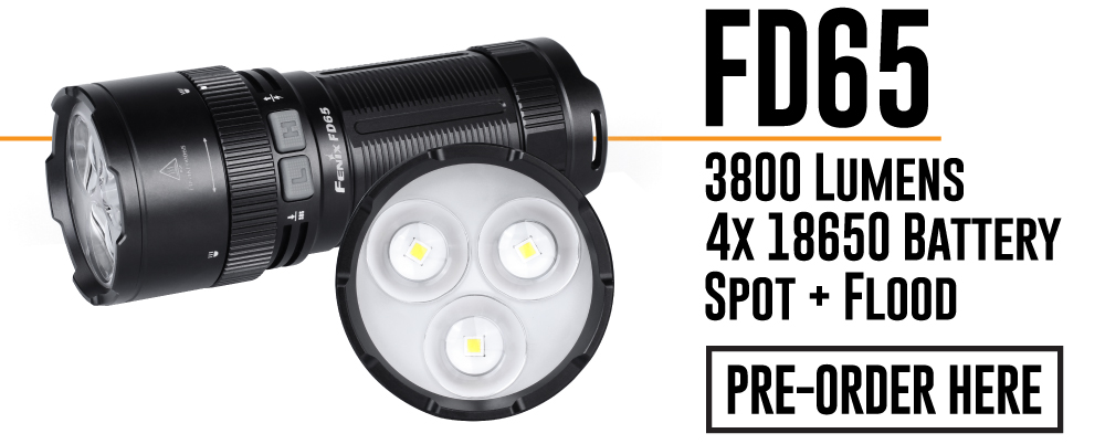 Fenix FD65 LED Flashlight