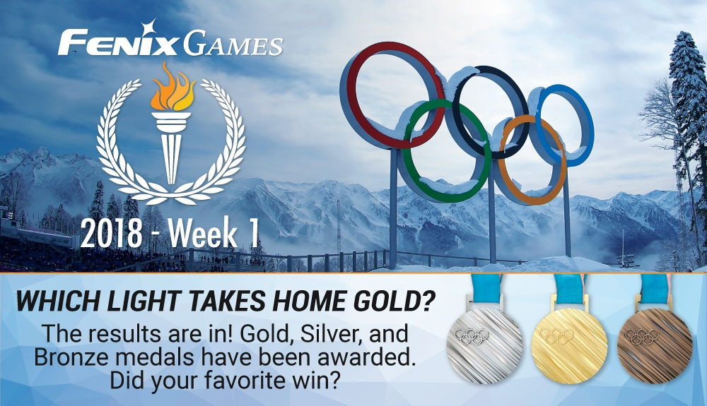 Fenix Flashlight Olympic Games