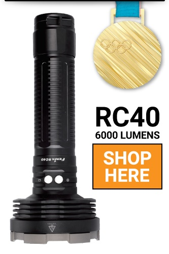 Fenix RC40 LED Flashlight