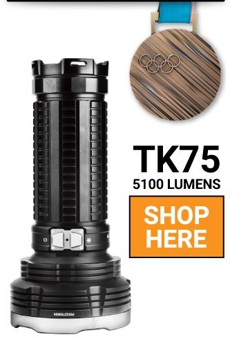 Fenix TK75 2018 LED Flashlight
