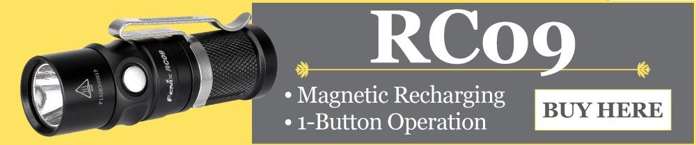Fenix RC09 LED Rechargeable Flashlight