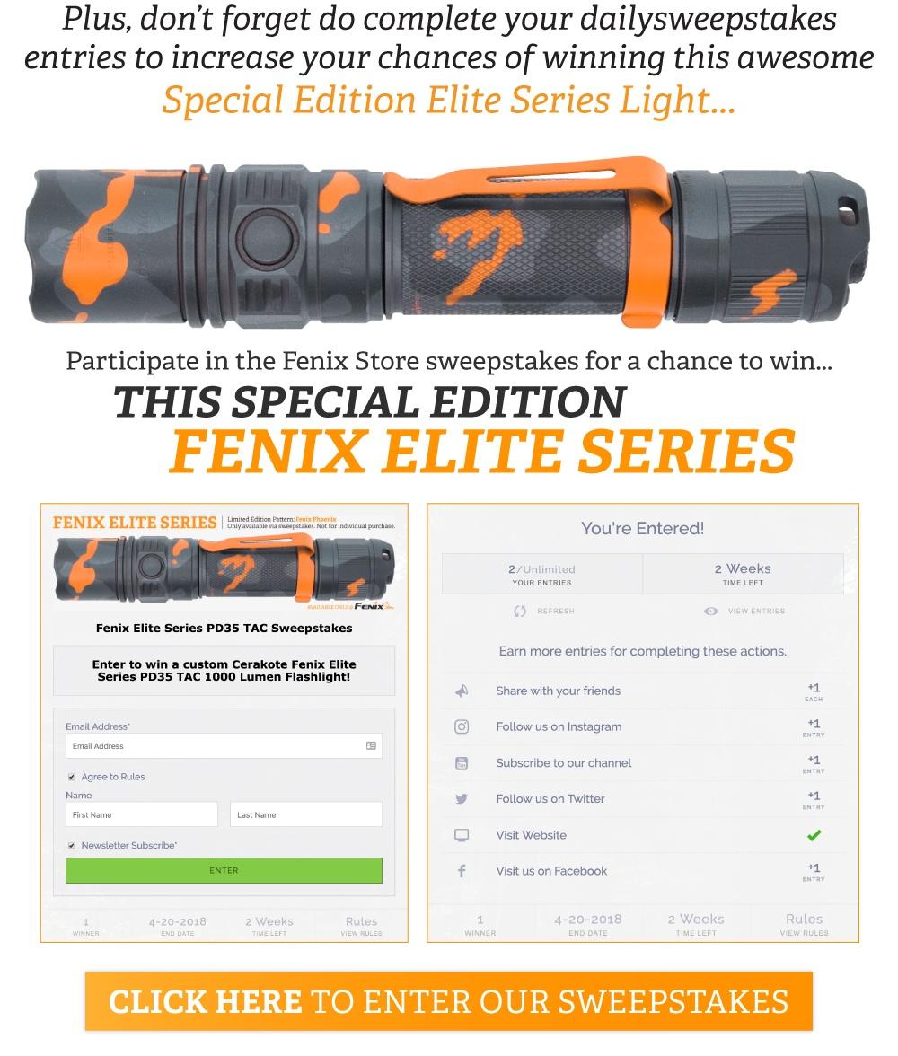 Fenix Elite LED Tactical Flashlights