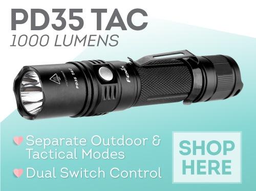 Fenix PD35TAC LED Flashlight