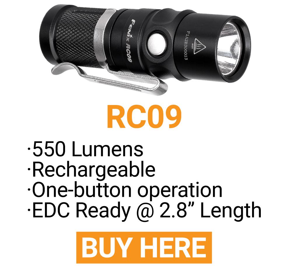 Fenix RC09 LED Flashlight
