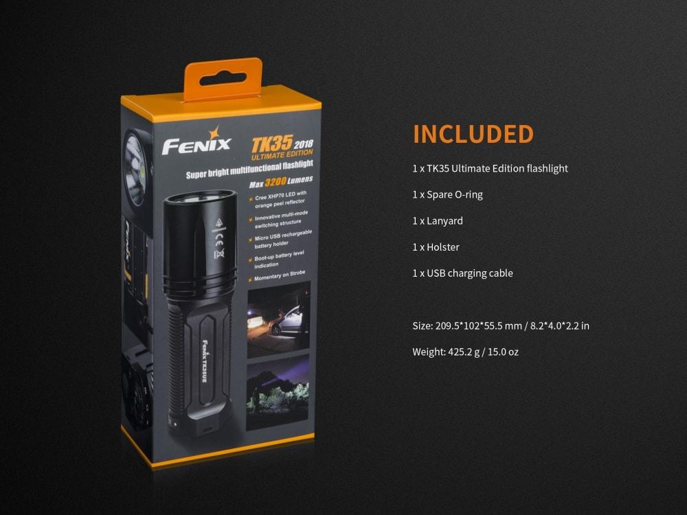 Fenix TK35 Ultimate Edition 2018 Edition