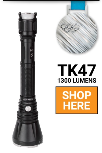 Fenix TK47 LED Flashlight