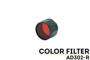Fenix AD302 TK-Series Red Filter Adapter