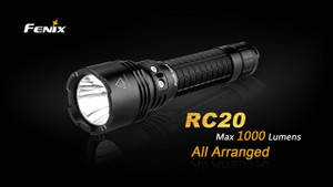 Fenix RC20 Rechargeable LED Flashlight Title