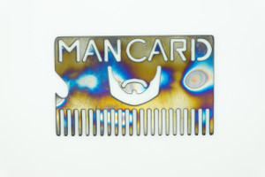 Spectrum Energetics Bearded Man Card - Torched Titanium