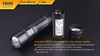 Fenix PD40R LED Flashlight Battery