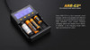 Fenix ARE-C2+ Four Channel Smart Battery Charger overview