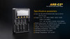 Fenix ARE-C2+ Four Channel Smart Battery Charger specs2