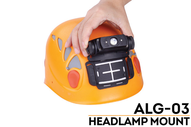 Fenix Alg 03 Headlamp Helmet Attachment Fenix Flashlights