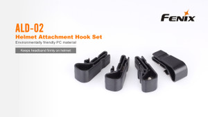 Fenix ALD-02 Helmet Attachment Hook Set