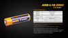 Fenix ARB-L18-2900 High-Capacity 18650 Battery - 2-Pack information