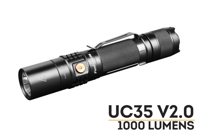 Fenix UC35 V2.0 LED Flashlight - 1000 Lumens
