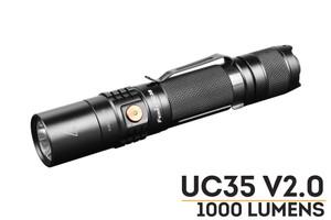 Fenix UC35 V2.0 LED Flashlight - 1000 Lumens
