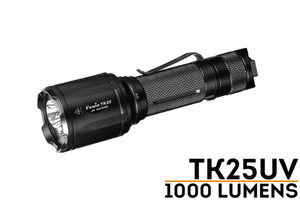 Fenix TK25UV LED flashlight with Ultraviolet Light