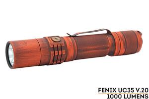 Fenix UC35 V2.0 - Blaze Battleworn Cerakote Finish