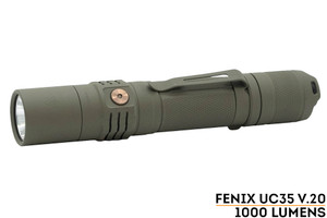 Fenix UC35 V2.0 - FDE Cerakote Finish