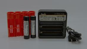 Batteries and Chargers for Fenix Flashlights