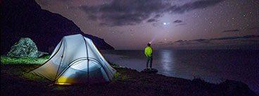 Camping and Hiking Flashlights, Headlamps, and Lanterns