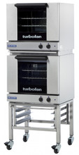 TurboFan E23M3/2 Manual Electric Convection Oven Double Stacked