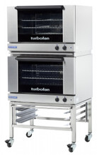 TurboFan E27M2 /2 Manual Electric Convection Oven Double Stacked