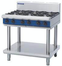 Blue Seal G516D-LS 900mm 6 Burner Gas Cook Top