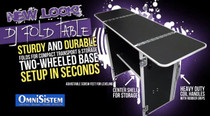 Omni Sistem Fold DJ Table