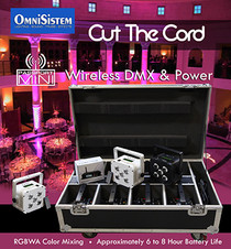OmniSistem Passport Mini LED Wireless Uplighting Package