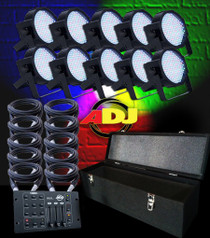 American DJ Mega Uplighting Package