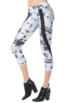 Impression Padmé 3/4 Leggings - READY