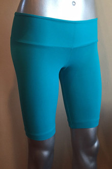 "Cobra Shorts - FINAL SALE - TEAL - XSMALL - 10"" INSEAM - 15"" SIDES (1 AVAILABLE)"